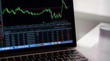 Aktienkurs Laptop