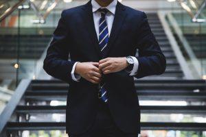 Anzug Mann Business