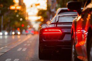 Audi R8 Heck
