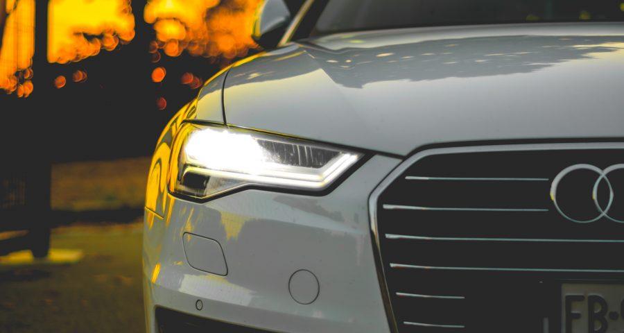Audi weiß Italien