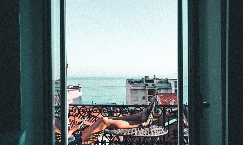 Balkon Aussicht