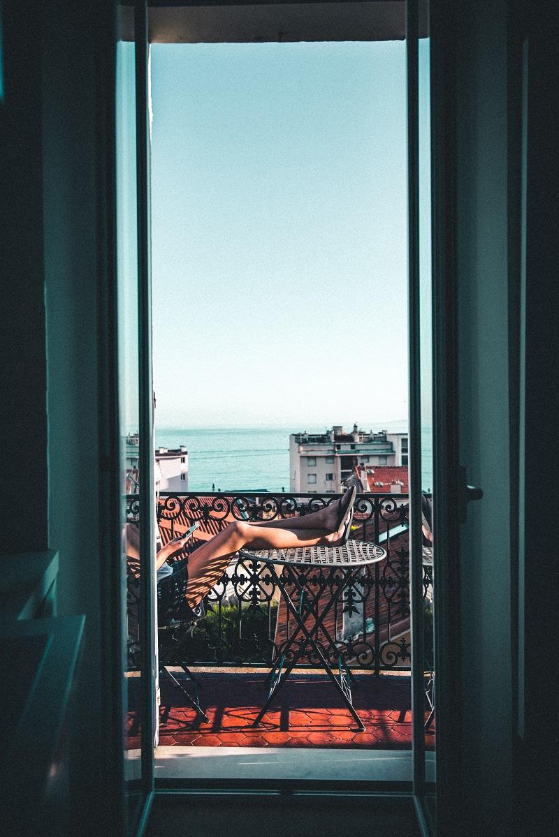 Balkon Aussicht Depotstudent