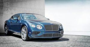Bentley blau
