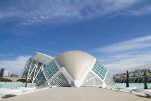 Architekt futuristisch Gebäude