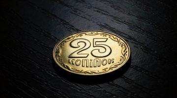 Geldmünze Gold 25
