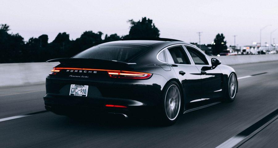 Sportwagen Porsche Panamera