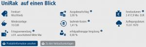 UniRak Fonds Union Investment Volksbank