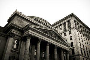 Altes Gebäude Bank