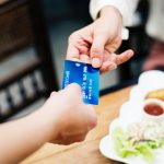 Kreditkarte Übergabe