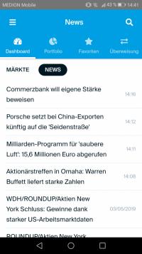 DEGIRO App News