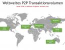 P2P Kredite Transaktionsvolumen weltweit