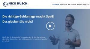 Nico Hüsch Website