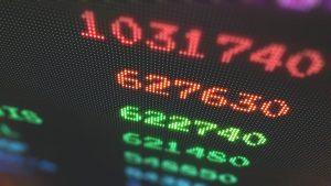 Börse Zahlen Laptop unspl