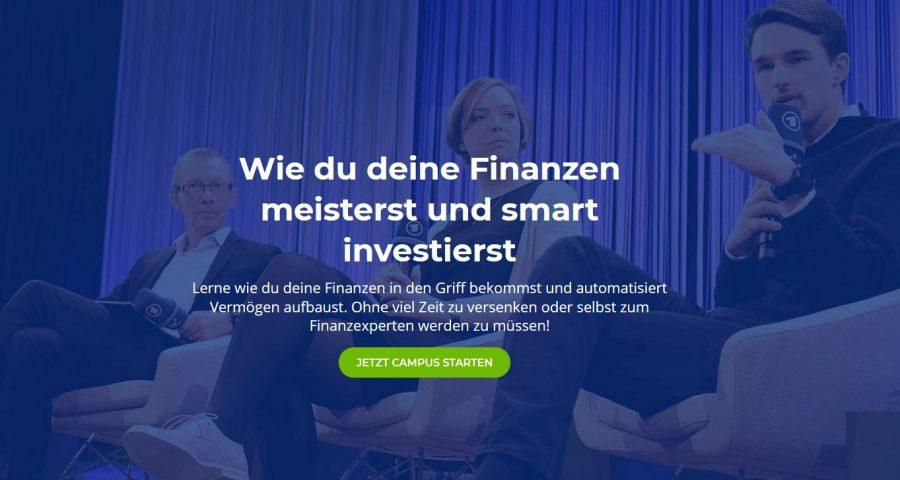 Finanzfluss Campus Website im Test
