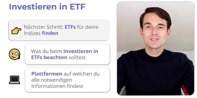 Investieren in ETF im Finanzfluss Campus
