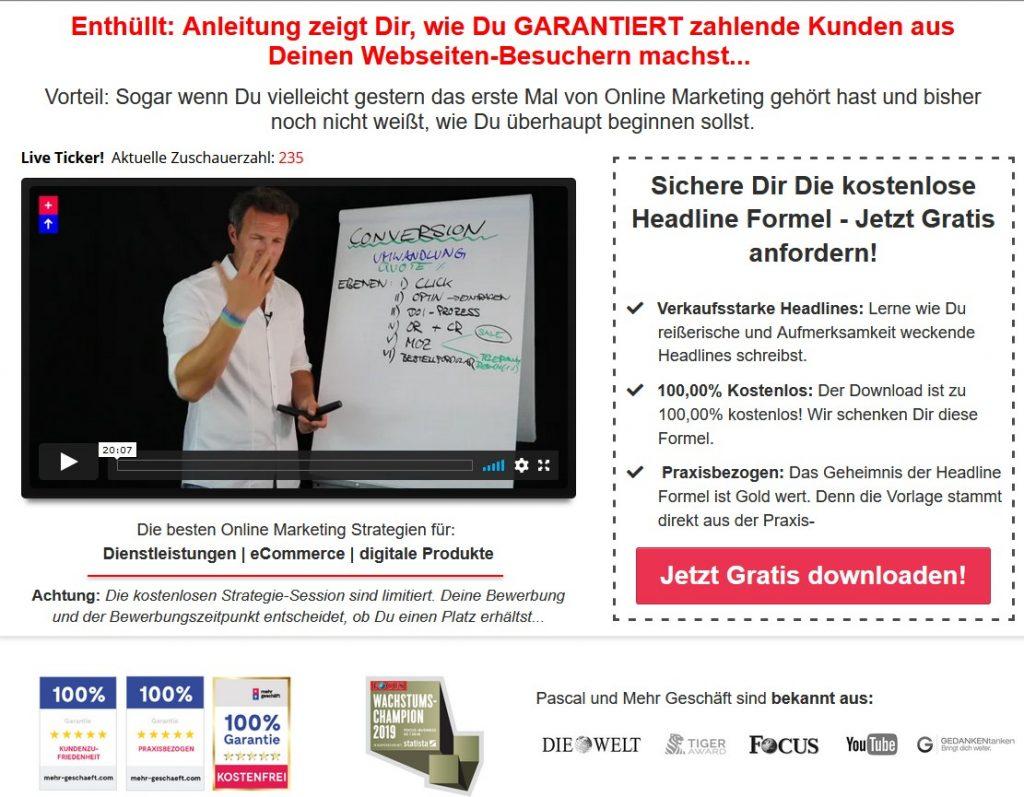 Mehr Geschäft Videos im E-Mail-Autoresponder