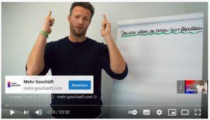 Mehr Geschäft Werbung auf Youtube