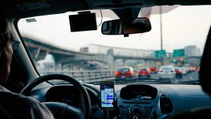 Auto Taxi Uber unspl