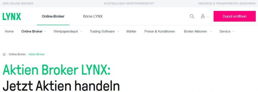 Depoteröffnung LYNX 1